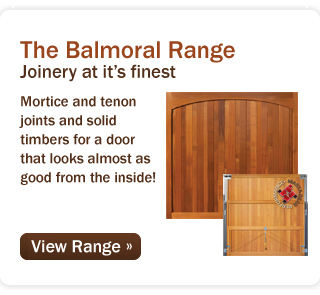 The Balmoral Range – Joinery at its finest!