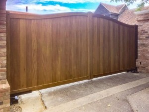 Kinver Highley Idigbo Wooden Gate